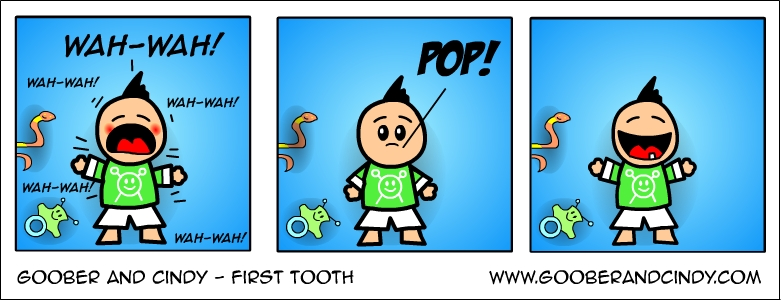 first-tooth