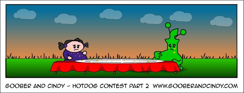 Hotdog contest part 2