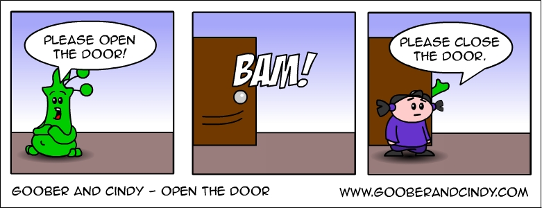 open-the-door