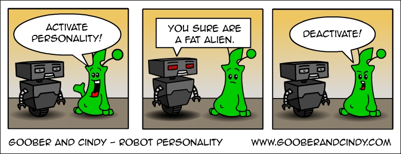 Robot personality