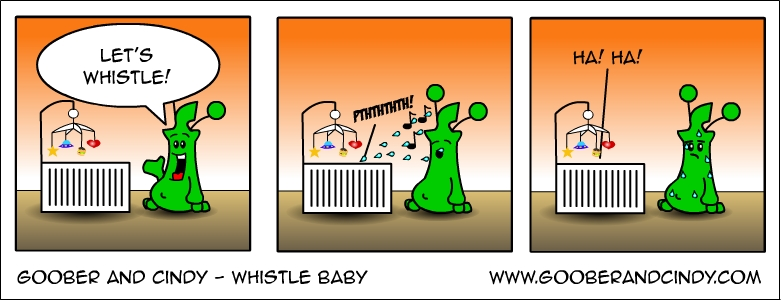 Whistle baby